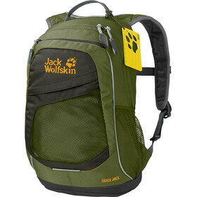 Jack Wolfskin Track Jack Backpack Kids cypress green
